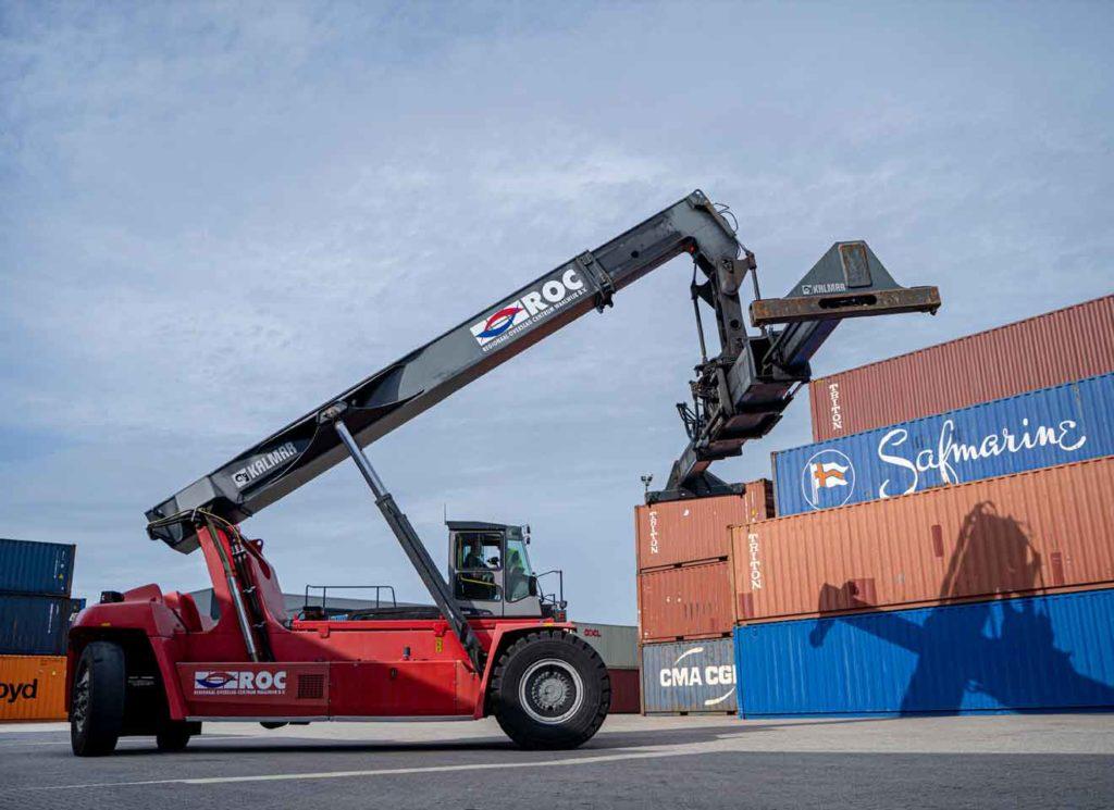 Containertransport - ROC Waalwijk